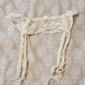 Vintage Victoria secret garter belt